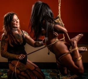 """A TK – What I Tie and Why"" Lexa Grace and Shakti Bliss Bunny @ Travis (Upstairs)"