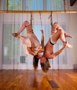 """Acrobatic Dynamic Suspension"" with Worldsokayestropebunny and Gentleebrutal @ Williamson 3 (Downstairs)"